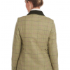 Barbour Marlow Ladies Wool Jacket Green-Pink Check 2