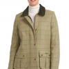 Barbour Marlow Ladies Wool Jacket Green-Pink Check 3