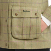 Barbour Marlow Ladies Wool Jacket Green-Pink Check 4