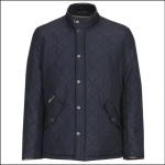 Barbour Powell Quilted Jacket Navy 1