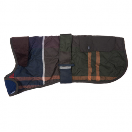 Barbour Quilted Classic Tartan Dog Coat 1