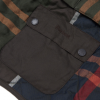Barbour Quilted Classic Tartan Dog Coat 2