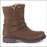 Barbour Sycamore Leather Ankle Boots Brown 1