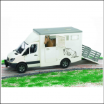 Bruder Mercedes Benz Sprinter Horse Transporter 1-16 Scale 1