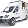Bruder Mercedes Benz Sprinter Horse Transporter 1-16 Scale 2