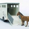 Bruder Mercedes Benz Sprinter Horse Transporter 1-16 Scale 3