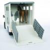 Bruder Mercedes Benz Sprinter Horse Transporter 1-16 Scale 4