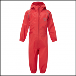 Castle Kids Splashaway Coverall Red 1