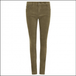 Dubarry Honeysuckle Ladies Pincord Jeans Dusky Green