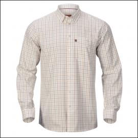 Harkila Retrieve Shirt Burgundy Check 1