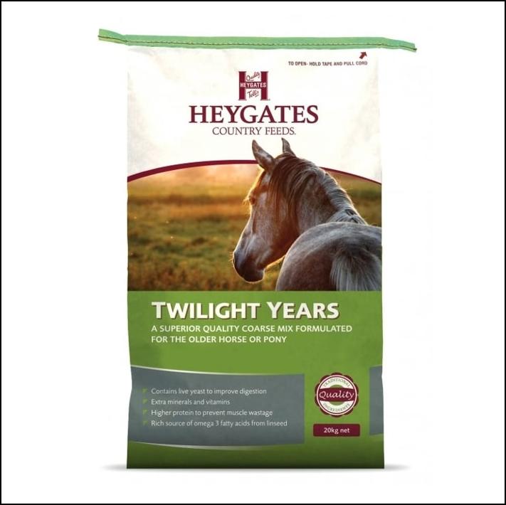Heygates Twilight Years Horse & Pony Coarse Mix 20kg