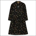 Joules Karis Placket Shirt Dress Black Primrose 1