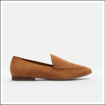 Joules Lexington Slipper Loafers Tan Suede 1