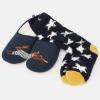 Joules Slipper & Sock Gift Set Navy Hare 2