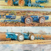 Tractor Themed Blank Cards by Steven Binks - Doe Tractors