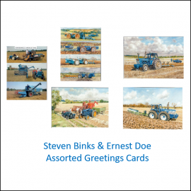Tractor Themed Blank Cards by Steven Binks (Pack of 5) 1