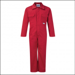 Castle Junior Tearaway Overalls Red 1