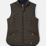 Joules Bridgeford Reversible Quilted Gilet Heritage Green-Navy 1