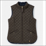 Joules Bridgeford Reversible Quilted Gilet Heritage Green-Navy
