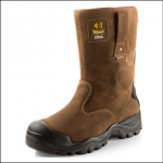 Buckler BSH010BR Dark Brown Safety Rigger Boot 1