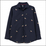 Joules Amilla Dropped Shoulder Shirt Navy Duck 1