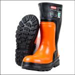 Oregon Yukon Safety Chainsaw Boots Black-Orange 1