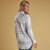 Barbour Baymouth Ladies Dress Shirt White Breeze Blue 2