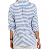Barbour Craster Ladies Shirt Blue-White Stripe 2
