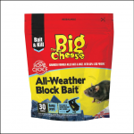 Big Cheese All Weather Block Bait (30x10g Pack) 1