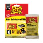 Big Cheese Rat & Mouse Grain Bait Sachets (6x25G) 1