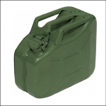 Gopart 10L Metal Army Green Jerry Can 1