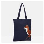 Joules Lulu Canvas Tote Bag Navy Fox 1