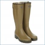 Le Chameau Men's Chasseur Jersey Lined Wellington Boots 1