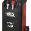Sealey START660 100A Starter Charger 12-24V 2