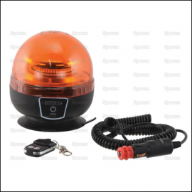 Sparex 12-24V LED Magnetic Rechargeable Amber Beacon 1