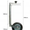 Sparex 3063 Jockey Wheel Jack 42mm Diameter 2