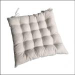 Ascalon Ecru Daisy Square Seat Cushion Pad
