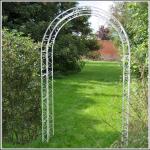 Ascalon Garden Arch Structure Cream 1