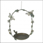 Ascalon Hanging Butterfly Bird Dish 1