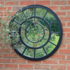 Ascalon Round Clock Mirror (80cm) 2
