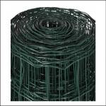 Eurofence Plus Green PVC Coated Rectangular Mesh Fence 1000mm x 10M 1