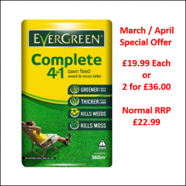 EverGreen Complete 4 in 1 Lawn Care 360m2 - Special Offer