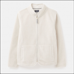 Joules Hedgley Sherpa Jacket Antique Creme 1