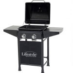 Lifestyle Cuba 2 Burner Gas Barbecue 1