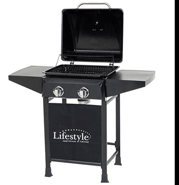 Lifestyle Cuba 2 Burner Gas Barbecue 1