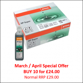 Stihl HP Super 2-Stroke Engine Oil 100ml - Special Offer