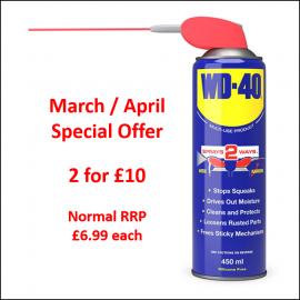 WD40 Smart Straw Spray 450ml - Special Offer