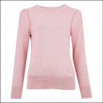 Barbour Bowland Ladies Knit Sweater Dusty Rose 1
