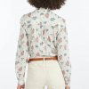 Barbour Bowland Off White Floral Print Shirt 2