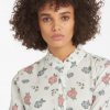 Barbour Bowland Off White Floral Print Shirt 3